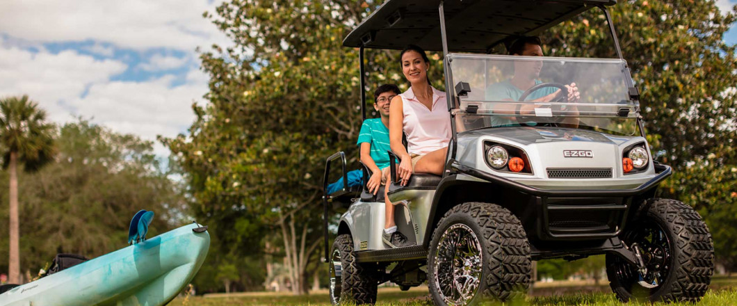 Golf Carts Are Perfect for Festivals and Fairs